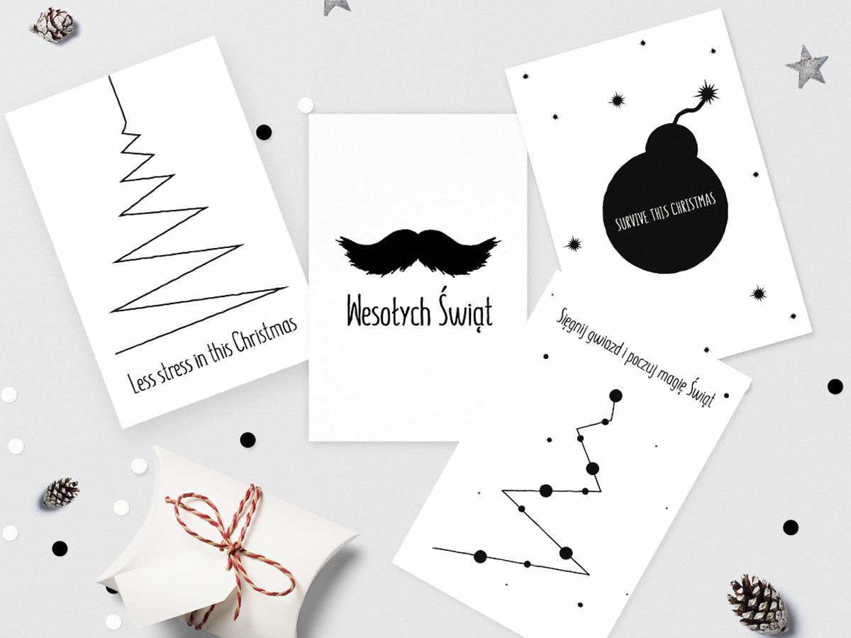 Kartki świąteczne do druku