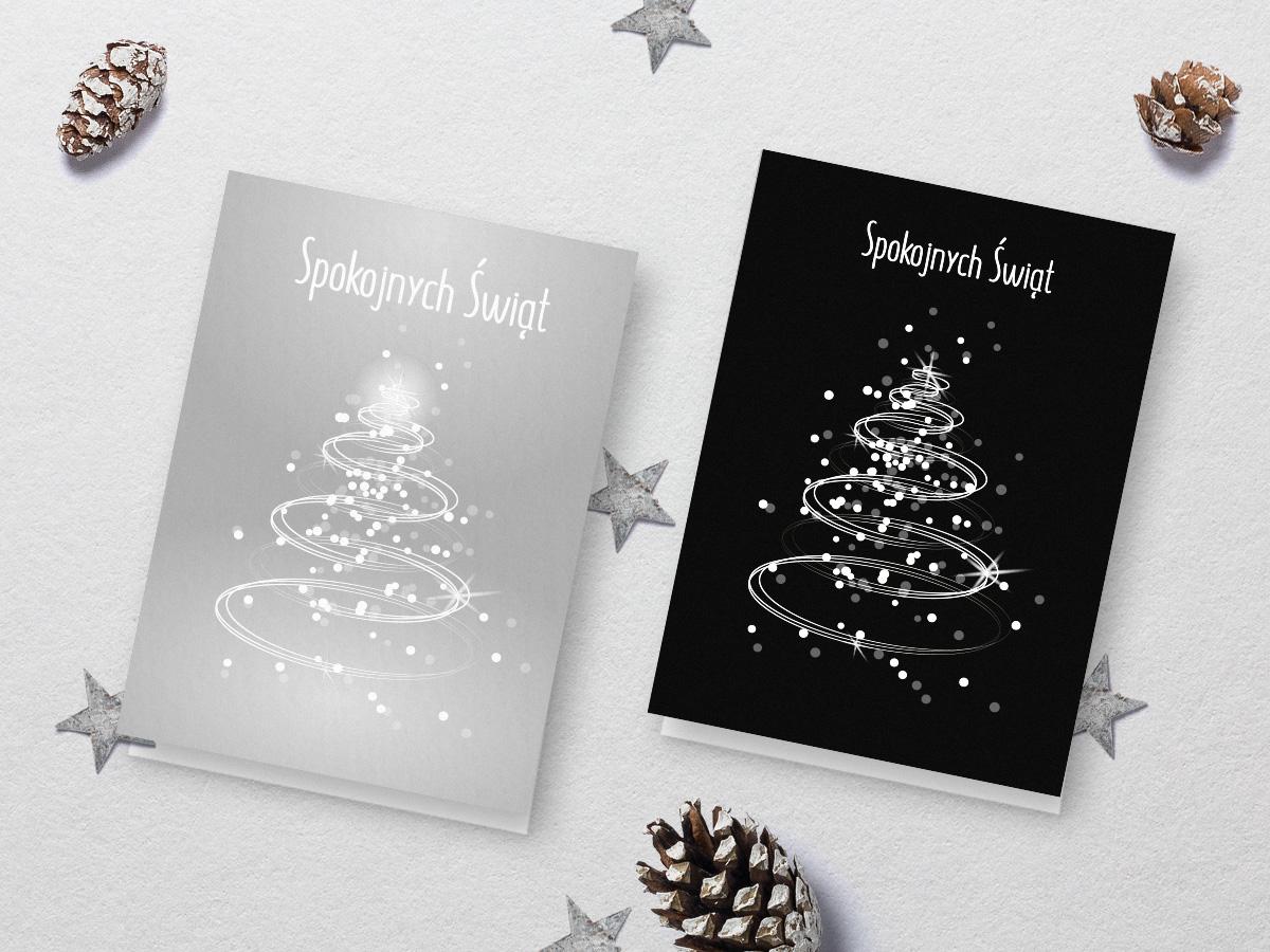 świąteczne kartki do pobrania